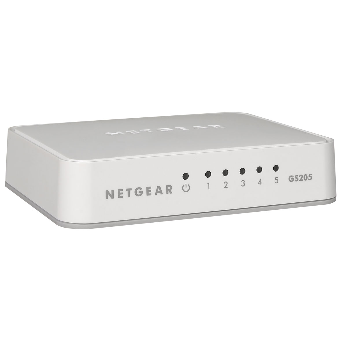 Switch 5 ports Gigabit 10/100/1000 Mbps GS205