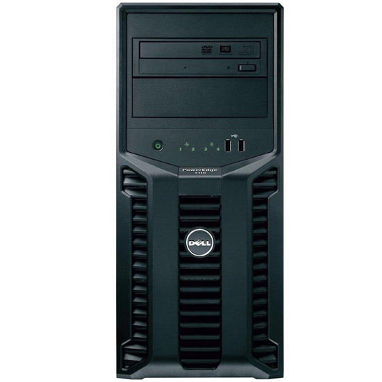 Serveur DELL PowerEdge T110 II Xeon Quad Core E3-1220v2 3.1Ghz 4Go 2 * 1To SATA 200-92306