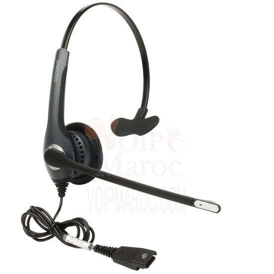 JABRA GN2020 IP Mono, NC (QD Version,to con to PC use Link 2 2013-82-04