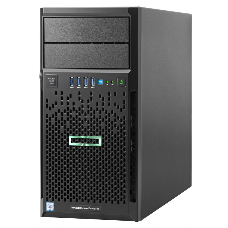 Serveur HP HPE ML30G9 Processeur Intel Xeon Quad-Core E3-1220v5 3.0GHz 831068-425