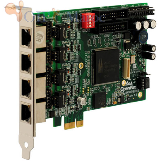 Carte ISDN BRI 4 Port PCI-E B400E
