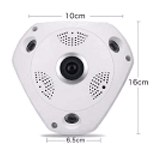 Caméra IP PTZ 1.3 MP sans Fil D2846