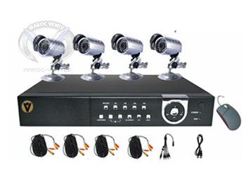 DVR Kits with 4Ch video input and 1Ch out