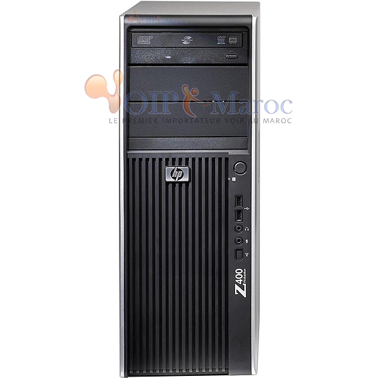 Station de travail Z400 Intel Xeon W3550 + 2GB + NVIDIA Quadro FX580 512MB Card KK642EA