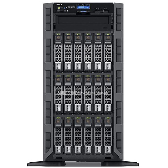 Serveur Tour Dell PowerEdge T630, 2x 300 GB, 8 GB RAM E5-2620 v4 2.1GHz IDRAC_E PET630-E5-2620-V4-A
