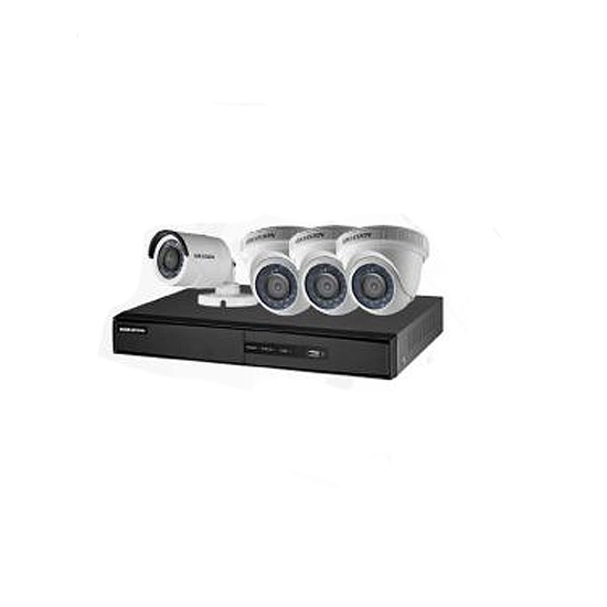 DVR 4 CH + 3 CAMERA MINI DOME + 1 CAMERA BULLET Turbo HD
