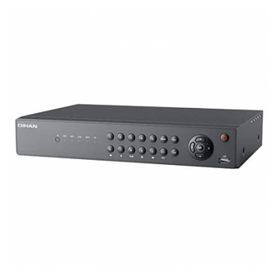 DVR 720P/1080P, H.264, 4CH Audio In/1CH Audio Out, BNC/GA/HDMI