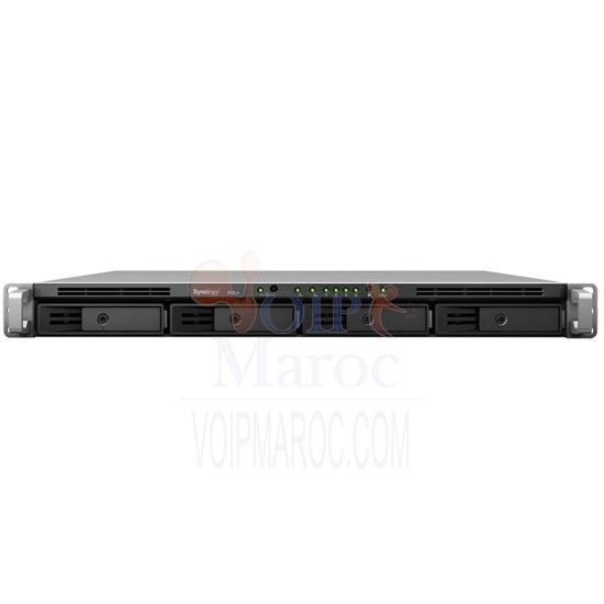 4 Baies  Dual Core 1.33 Ghz 1 Go Ram  2 LAN Gigabit  24 To max. RS814
