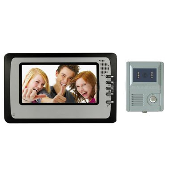 "Camera 7"" COLOR LCD VIDEO INTERCOM , 150 Storage of high resolution pictur"