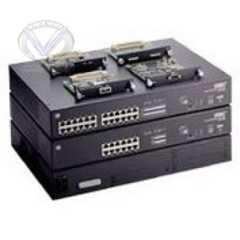 12-port, 2 expansion slots, able to stack up to 4 unit