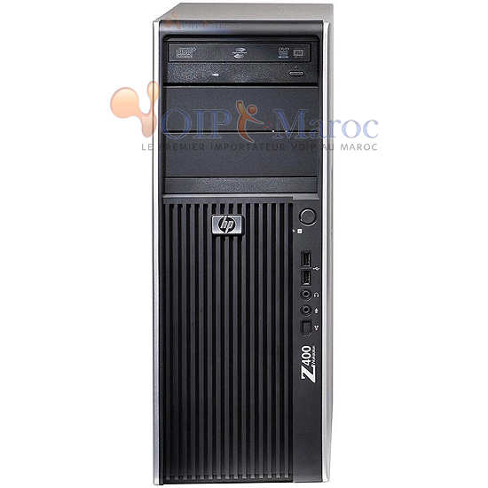 Station de travail Z400 Intel Xeon W3550 NVIDIA QUADRO 400 512MB VS933AV
